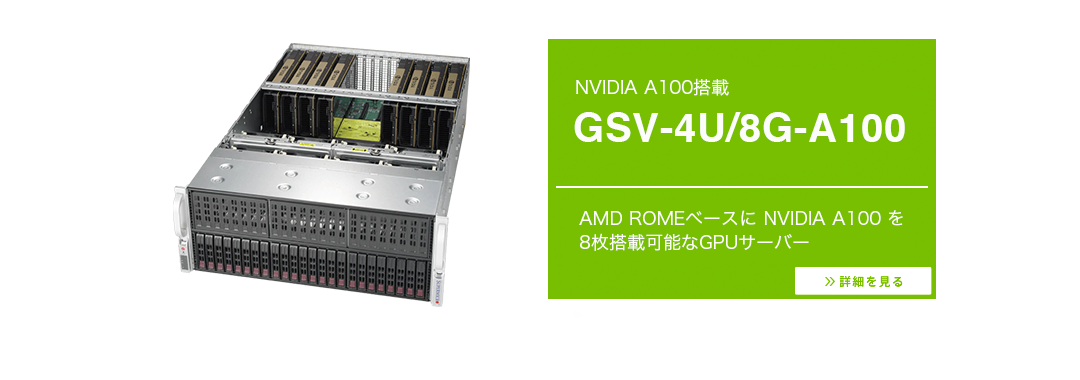 NVIDIA A100_GSV-4U8G-A100